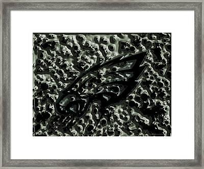 The Philadelphia Eagles 1a Framed Print by Brian Reaves