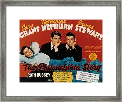 The Philadelphia Story, Katharine Framed Print