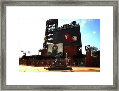 The Phillies - Steve Carlton Framed Print by Bill Cannon