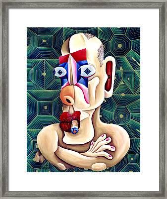 The Philosopher Framed Print by Tak Salmastyan