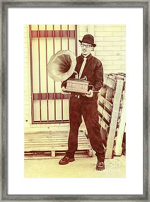 The Phonograph Songster Framed Print by Jorgo Photography - Wall Art Gallery