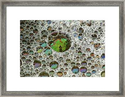 The Photographer Framed Print by Kathy Gibbons