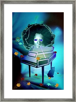 The Pianist Meringue Framed Print by Norman Reutter