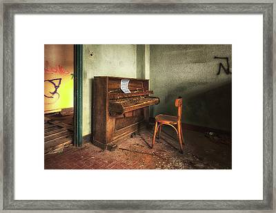 The Piano Framed Print