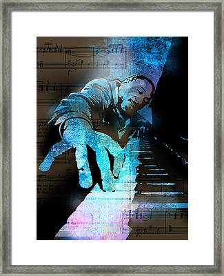 The Piano Man Framed Print
