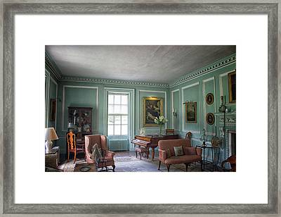 The Piano Room Framed Print