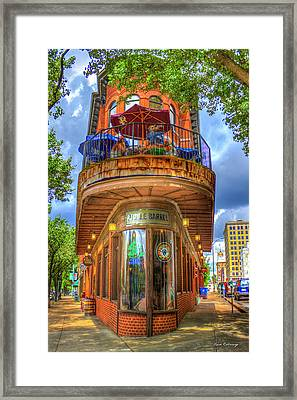 The Pickle Barrel Too Chattanooga Tennessee Art Framed Print by Reid Callaway
