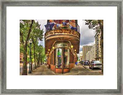 The Pickle Barrel Too Chattanooga Tennessee Framed Print by Reid Callaway