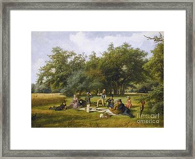The Picnic Framed Print by Celestial Images