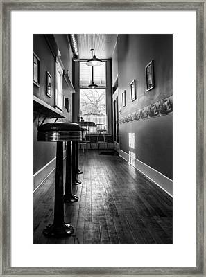 Framed Print featuring the photograph The Pie Shop by Dan Traun
