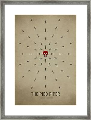 The Pied Piper Framed Print by Christian Jackson