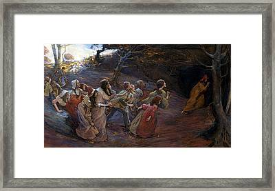 The Pied Piper Of Hamelin Framed Print