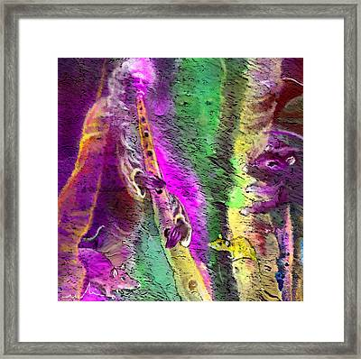 The Pied Piper Of Hamelin Framed Print by Miki De Goodaboom