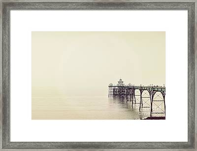 The Pier Framed Print by Colin and Linda McKie