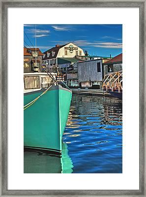 The Pier Framed Print by Joann Vitali
