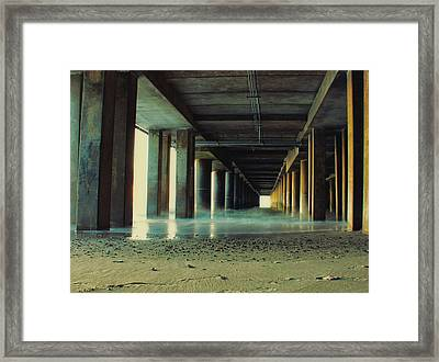 The Pier Framed Print
