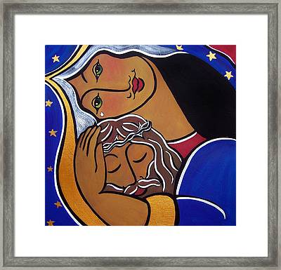 The Pieta Framed Print