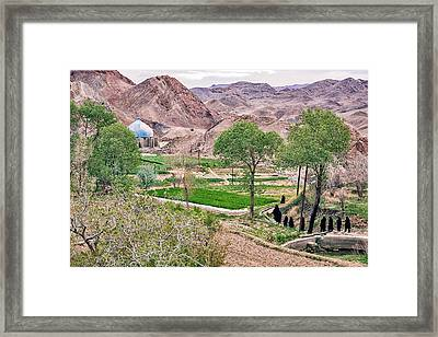 The Pilgrimage Framed Print by Tina Manley