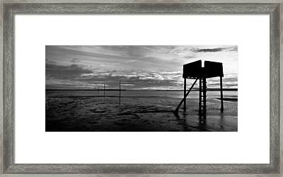 The Pilgrim's Refuge Framed Print