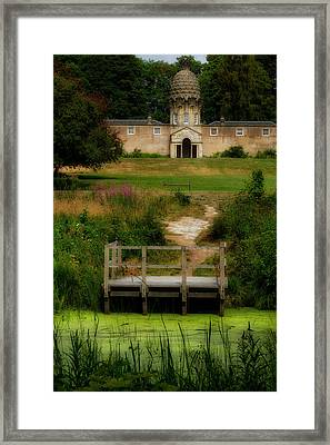 Framed Print featuring the photograph The Pineapple House by Jeremy Lavender Photography