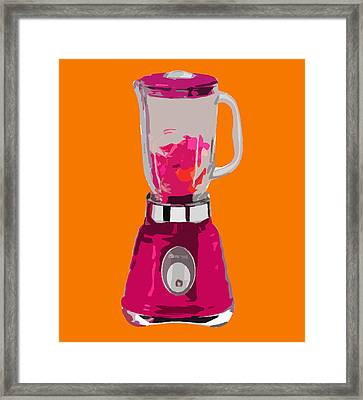 The Pink Blender Framed Print by Peter Oconor