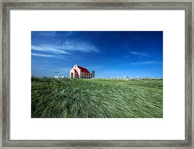 The Pink Church Framed Print