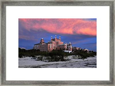 The Pink Lady Framed Print by David Lee Thompson