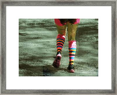 The Pink Panther  Framed Print by Steven Digman