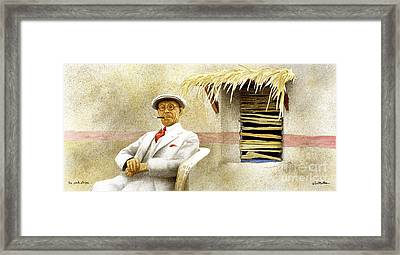 The Pink Stripe... Framed Print by Will Bullas