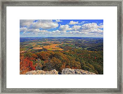 The Pinnacle On Pa At Framed Print