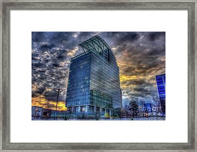 The Pinnacle Sunrise Buckhead Atlanta Art Framed Print