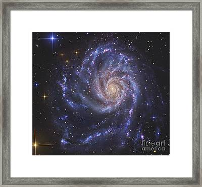 The Pinwheel Galaxy, Also Known As Ngc Framed Print by R Jay GaBany