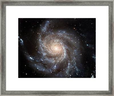 The Pinwheel Galaxy  Framed Print by Hubble Space Telescope