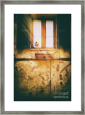Framed Print featuring the photograph The Pinwheel by Silvia Ganora