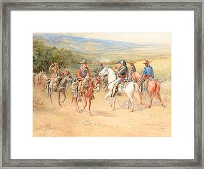 The Pioneer Framed Print