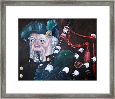 The Piper Framed Print by Kevin McKrell