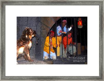The Pirates Keeper Framed Print by David Lee Thompson