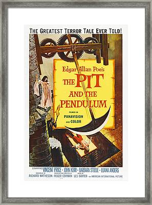 The Pit And The Pendulum, 1961 Framed Print