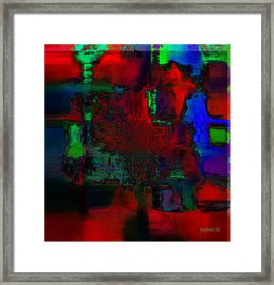 The Place Where I Am From Framed Print by Fania Simon