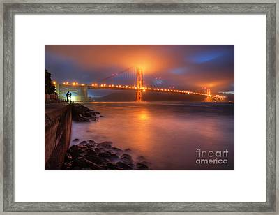 The Place Where Romance Starts Framed Print