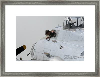 The Plane 2 Framed Print