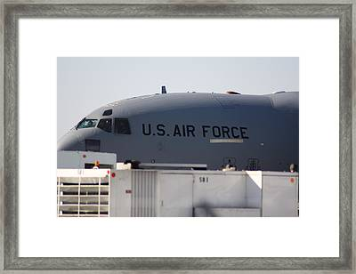 Framed Print featuring the photograph The Plane by Michael Albright