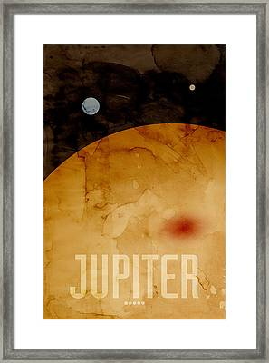 The Planet Jupiter Framed Print