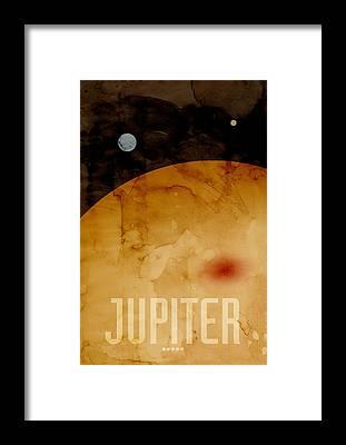 Jupiter Framed Prints