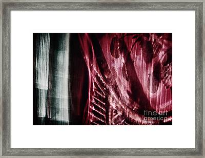 The Play Is Over. The Curtain Is Lowered Framed Print by Elena Lir-Rachkovskaya