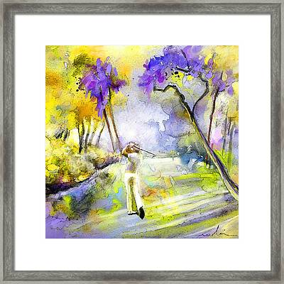 The Players Championship 2010 Framed Print by Miki De Goodaboom