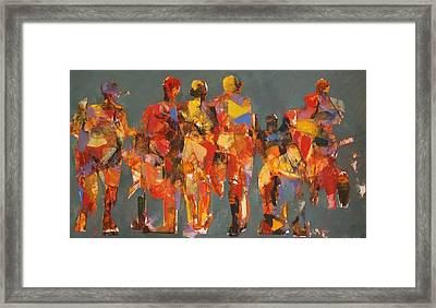 The Players Framed Print by Dan  Boylan