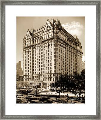 The Plaza Hotel Framed Print