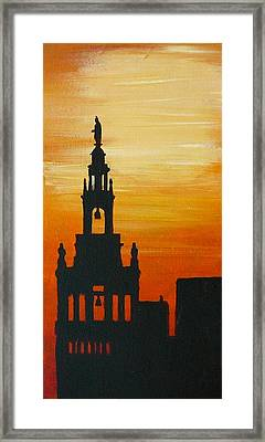 The Plaza Kansas Ctiy Framed Print