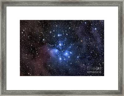 The Pleiades, Also Known As The Seven Framed Print